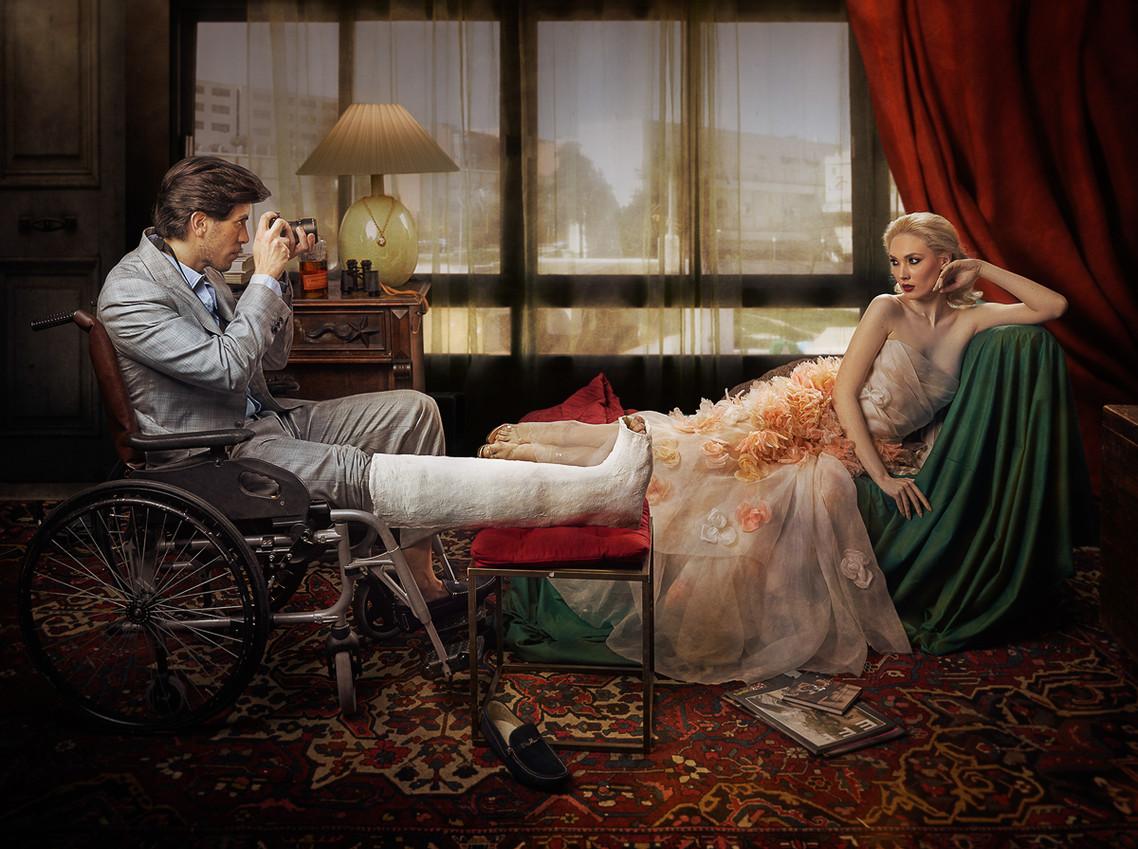 Rear Window Movie by Mariano Vargas