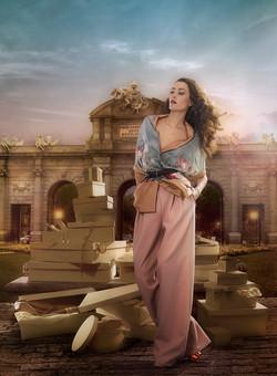 Fashion Advertising _ Puerta Alcala _ n0