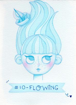 Dia 10 - Flowing (fluindo)