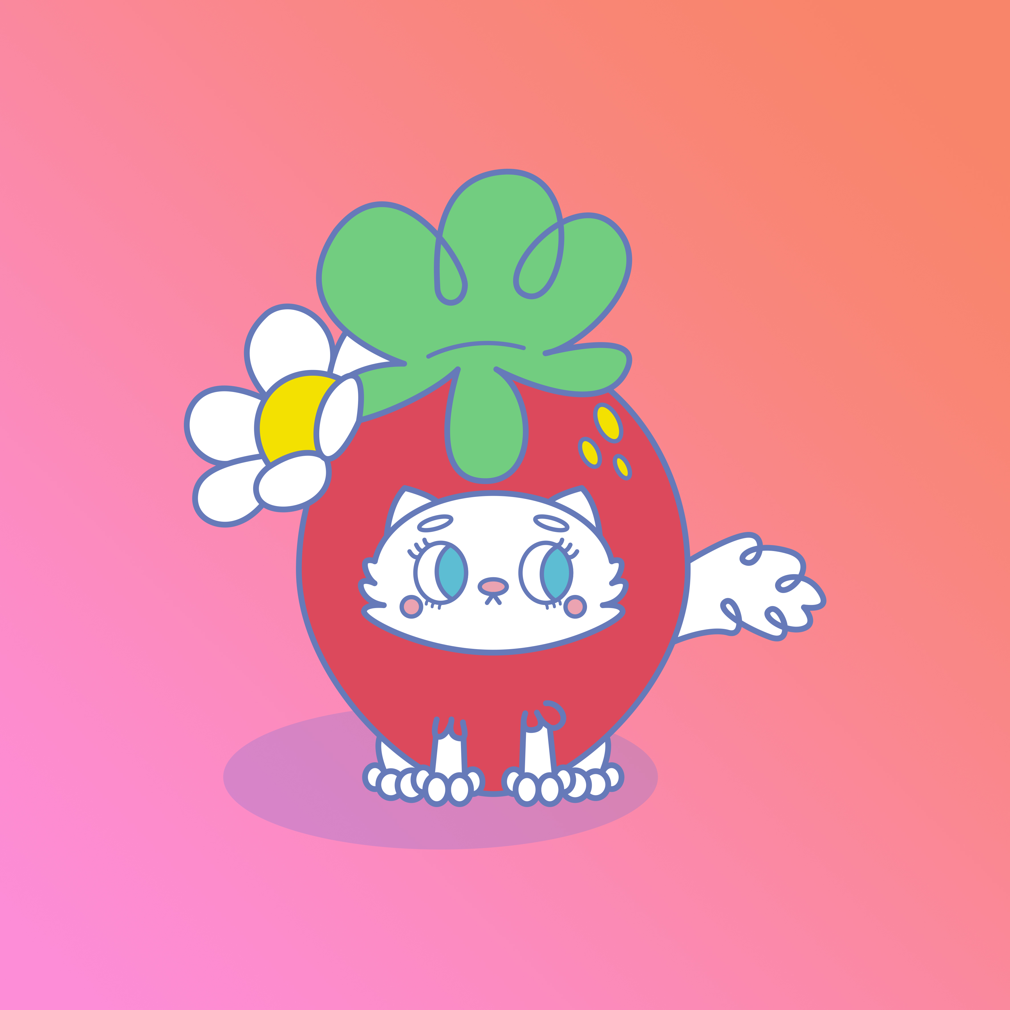 purrrfect strawberry