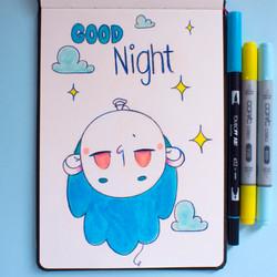 Inktober 22 - Goodnight