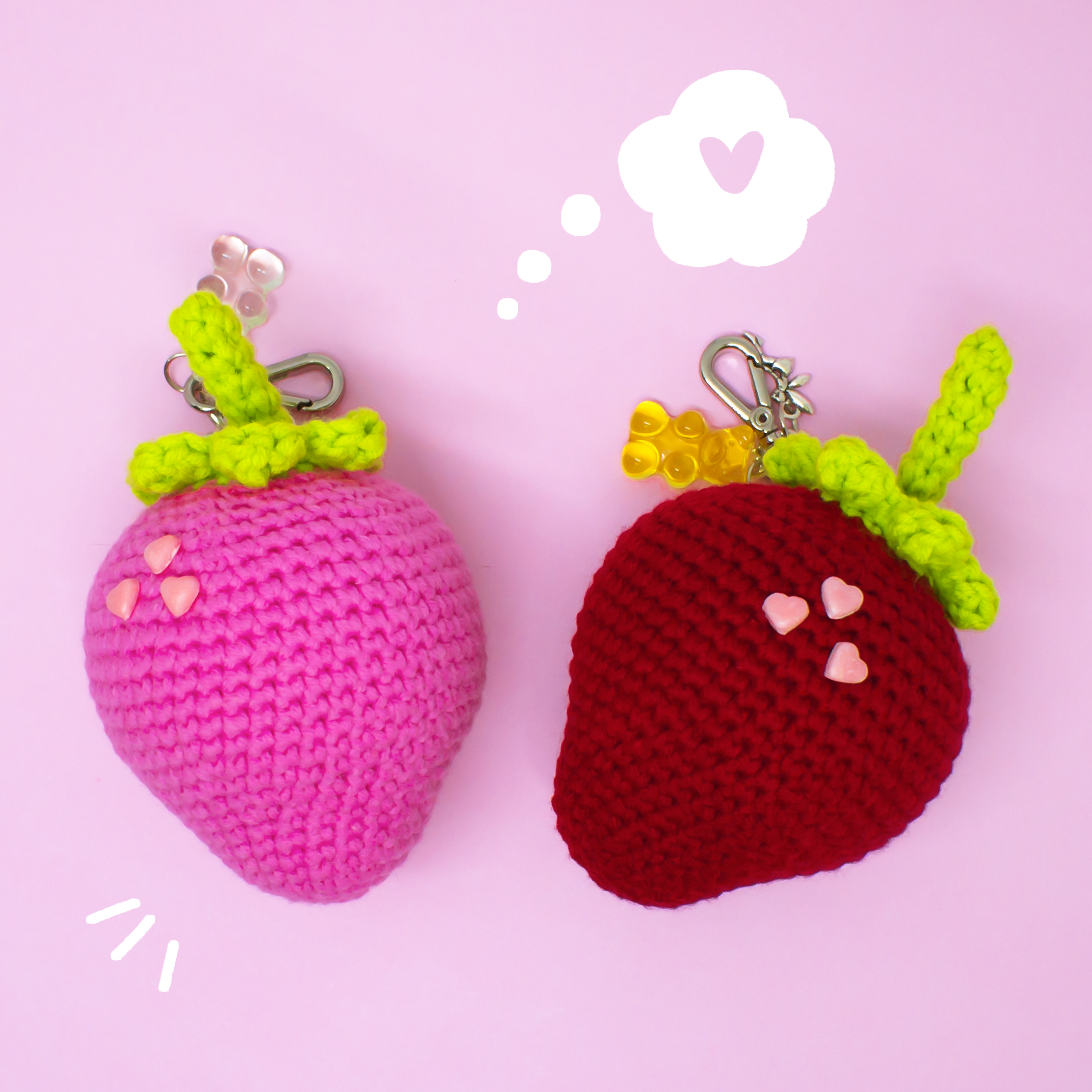 Crochet + Amor = Moranguinhos