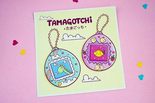 Print | Tamagotchi | 15cm x 15cm
