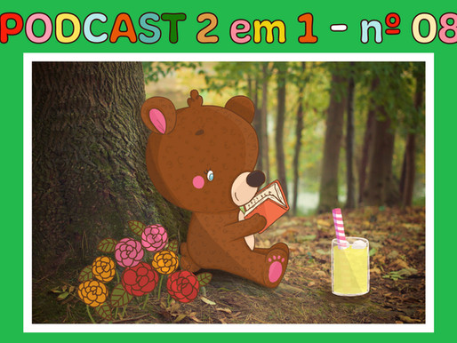 Novo podcast no canal! Yay! 🐻🍋