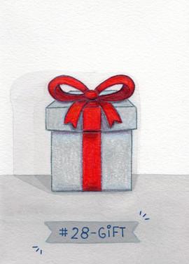 Dia 28 - Gift (presente)