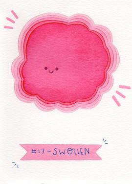 Dia 17 - Swollen (inchado)