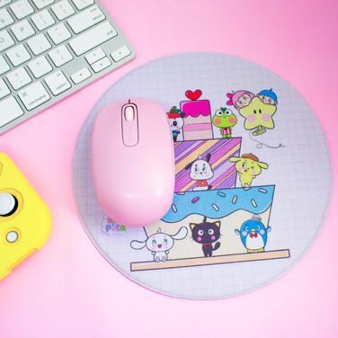 Mousepad - Sanrio (20cm x 20cm) - redondo