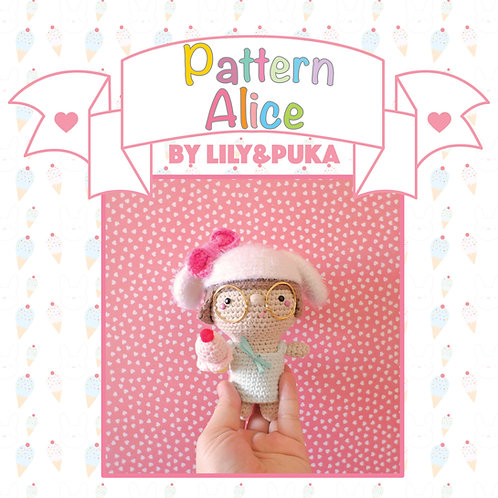 Pattern Amigurumi - Alice by lily&puka