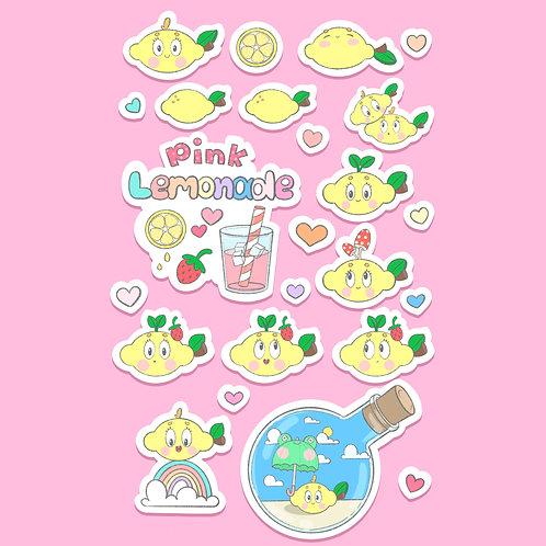 Limãozinho | Adesivos de Vinil | Adesivos à Prova d'água | lily&puka