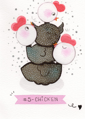 Dia 5 - Chicken (galinha)