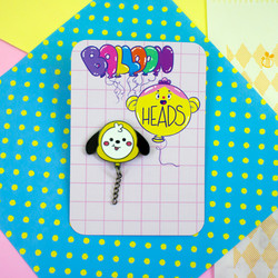 Pins inspirados no personagens do BT21 | Line Friends