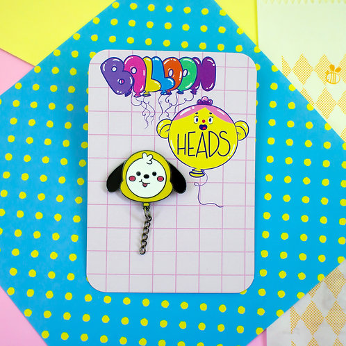 pin de metal - Chimmy - BT21 by lily&puka