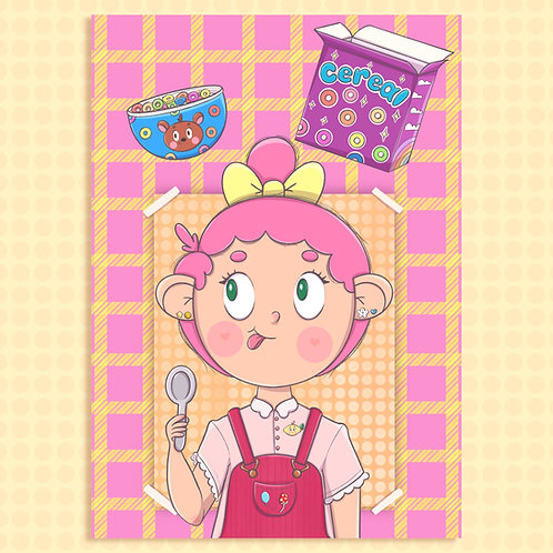 Print A4 - Cereal | lily&puka