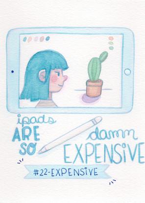 Dia 22 - Expensive (caro)
