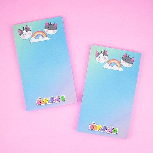 Bloquinho de Notas Lily e Puka | lily&puka