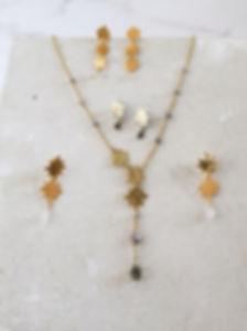 Stella dei Venti collana n.01 - ottone l