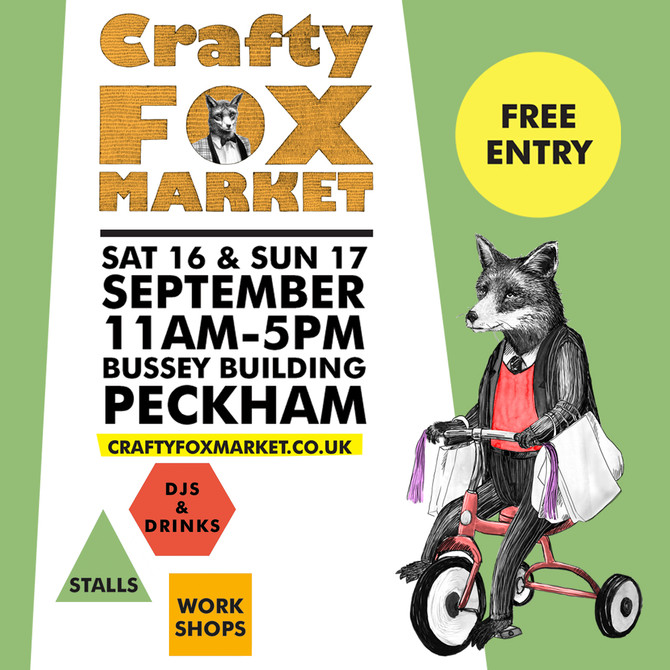 PetiteFraise Jewelry at Crafty Fox Market London, 17th September 2017