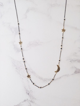 Starry Night long necklace
