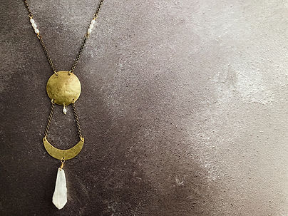 2 Moon phases necklace in white-5.jpg