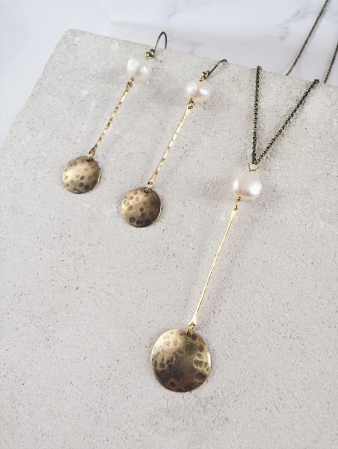 Full moon jewellery set