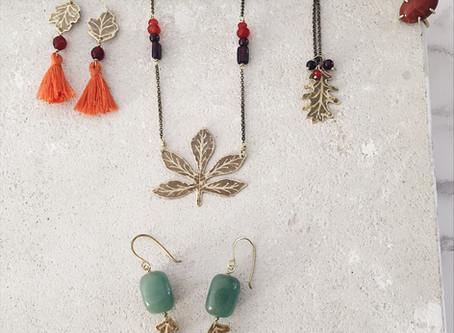 Gioielli e foglie autunnali. La collezione Leaf-Life cresce
