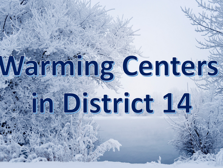 District 14 Warming Centers
