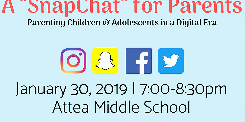 """""""SnapChat"""" for Parents: Parenting in a Digital Era"""