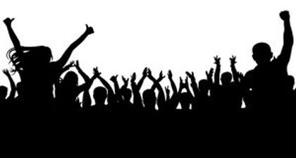cheerful-people-crowd-silhouette-party-a