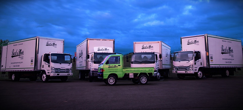 Our Fleet consists of 22-foot moving trucks to better serve you during your move in Montreal!