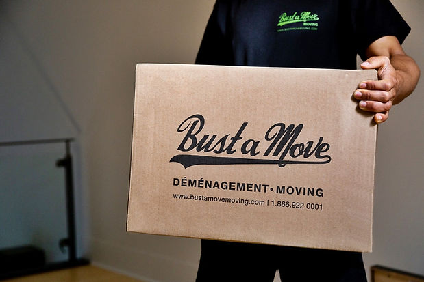 Bust a Move Moving offers labour only moving in Montreal when you don't require the services of a moving truck.