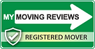 My Moving Reviews - Registered Mover logo