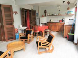 Gîte Aliséa cuisine et salon