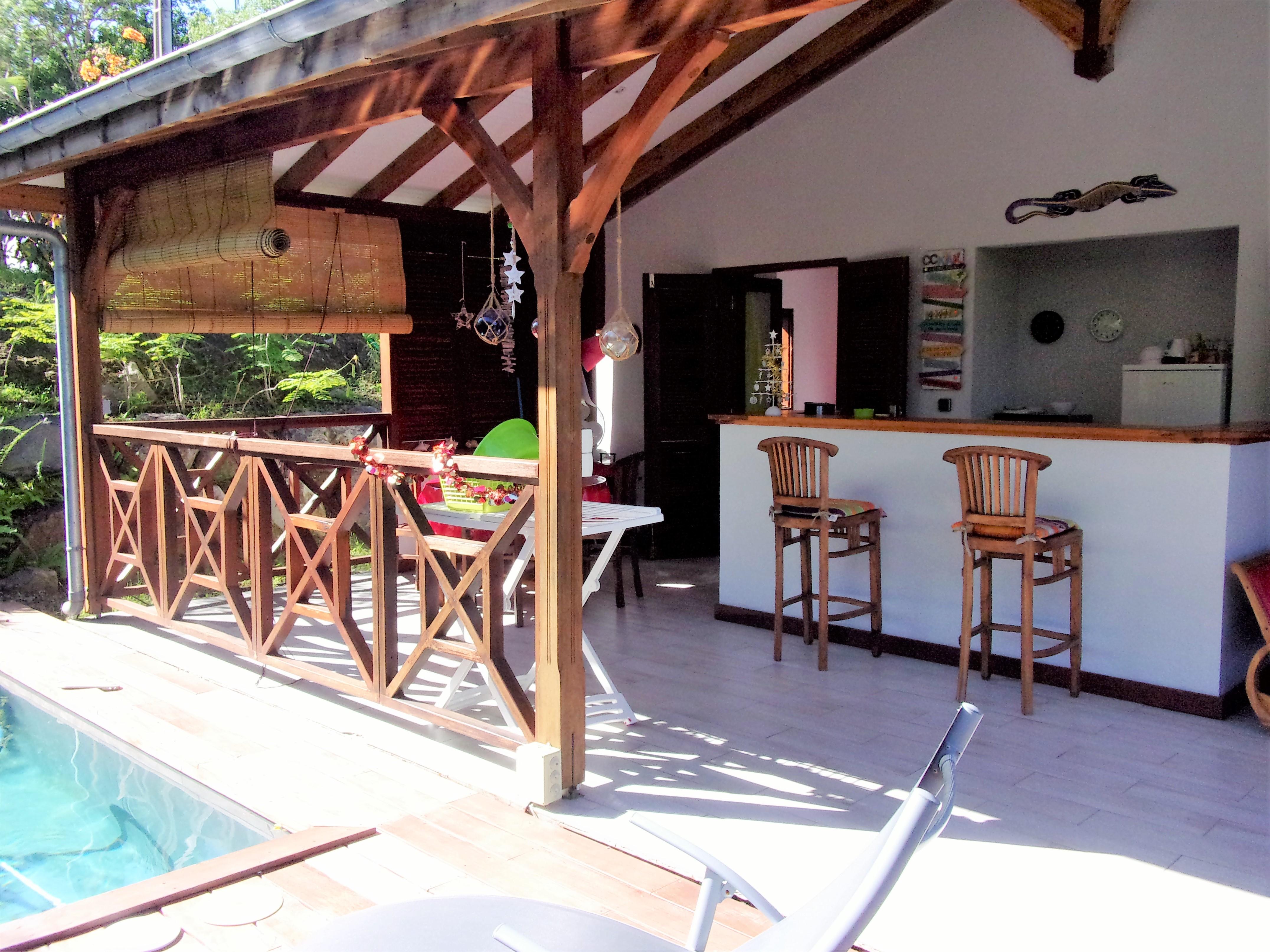 Terrasse Villa Grenadille