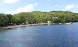 Plage de Grande Anse.