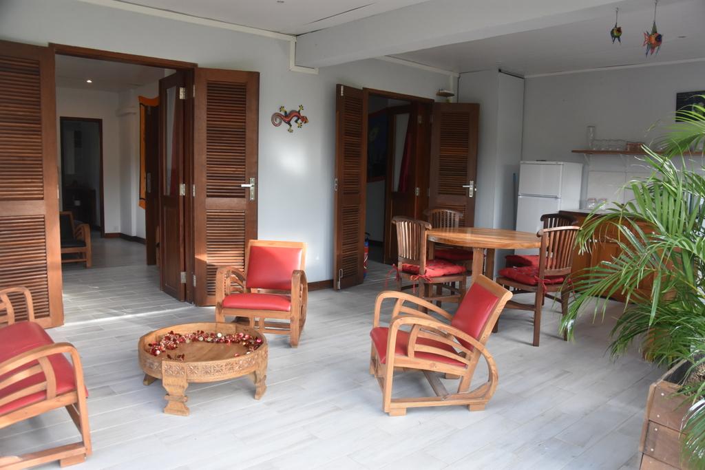 Terrasse cuisine salon ouvert