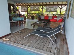 terrasse villa Pitaya