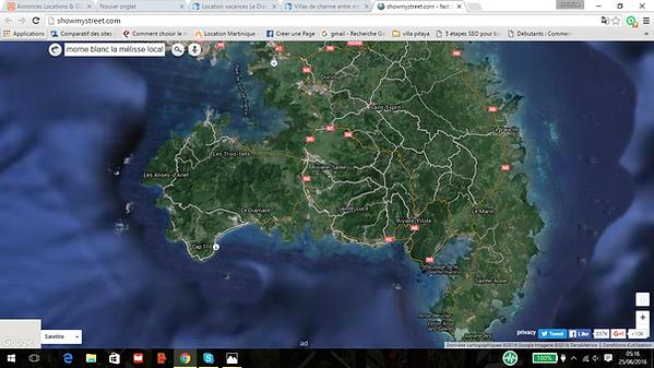location gîtes au Diamant Anses d'Arlet,locationpitaya.com