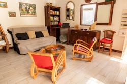Salon intérieur Villa Pitaya