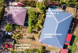 Villa Pitaya 6 pers piscine privée Diamant