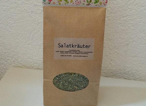 DIY - Salatkräuter-Kernen-Blütenmischung