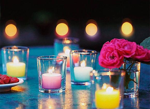 Colorlights 8h - Teelichter