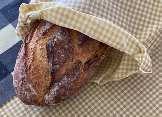Bienenwachstuch Brot - Bag