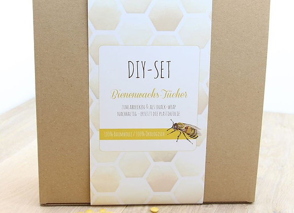 DIY - Set Bienenwachs - Tücher
