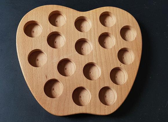 Holzdisplay für äth. Öle