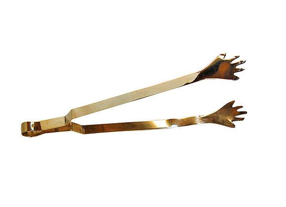 Kohlezange Hand