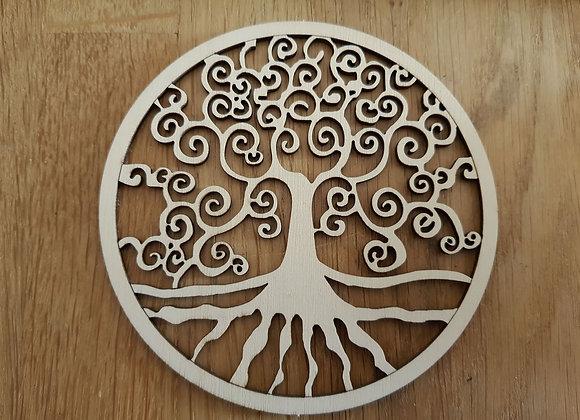 Wandschmuck Lebensbaum aus Holz