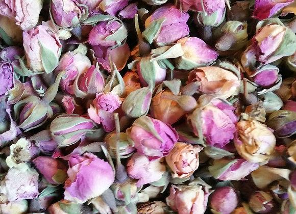 Rosenblütenköpfchen / Rosenknospen 30g