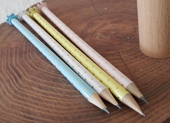 Bleistift Krone mit Swarovskistein
