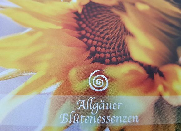 Allgäuer Blütenessenz Sonnenblume - sich selbst erkennen