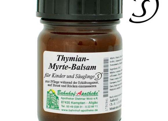 Thymian - Myrte - Balsam für Kinder und Säuglinge